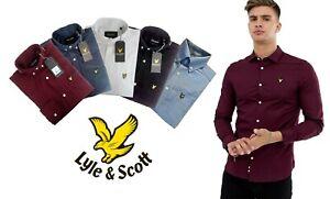 LYLE-amp-SCOTT-Long-Sleeve-Casual-Button-Down-Oxford-Shirt