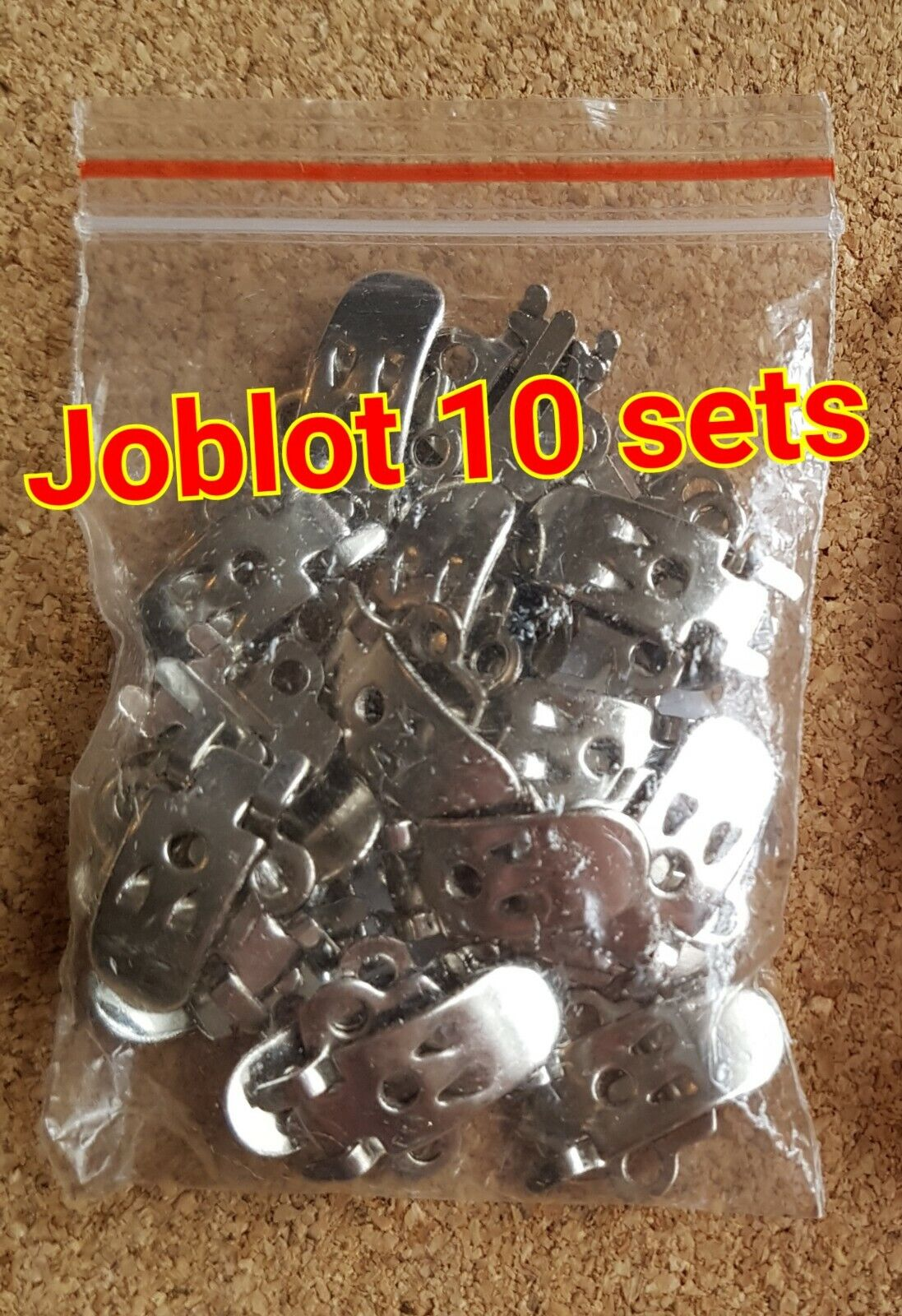 Shoe Clip Blanks. Silver Tone, Crafting. Joblot Craft clearance 10 pairs