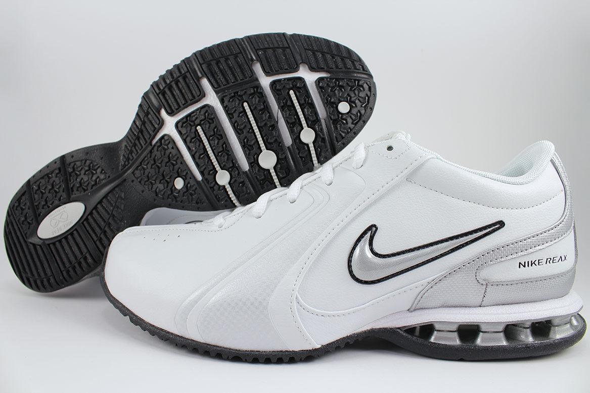 Nike Reax Tr Iii 3 Sl blancoo Plateado Negro Cross-Trainer Entrenamiento tamaños de EE. UU. para Hombre