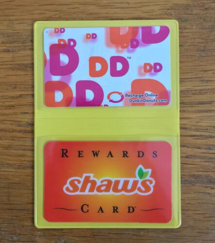 Vinyl Business Card Cases Debit Credit Gift ID Licenses Slim Wallet Thin Holder