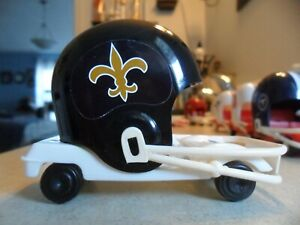 ONE-1969-PRESEASON-NEW-ORLEANS-SAINTS-CUSTOM-MADE-1970-039-S-NFL-HELMET-BUGGY