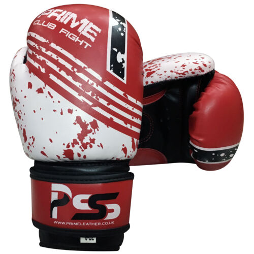 Kids uniform set top /& bottom age 3-12 years junior boxing gloves 4//6 OZ Red
