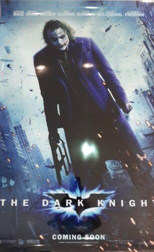 THE DARK KNIGHT 27x40 LIGHT BOX Poster JOKER Heath Ledger 2 sided DS banner