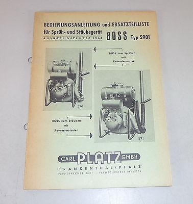 Catálogo Piezas Sitio Sprüh Y Stäubegerät Boss Tipo Sophisticated Technologies Manual De Instrucciones