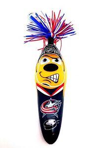 NHL Columbus Blue Jackets Kooky Klicker Kollectible Pen Clip Authentic Series1