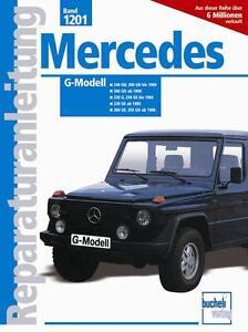 Mercedes-G-Klasse-W460-Reparaturanleitung-Werkstatthand-Buch-manual-book-W-460