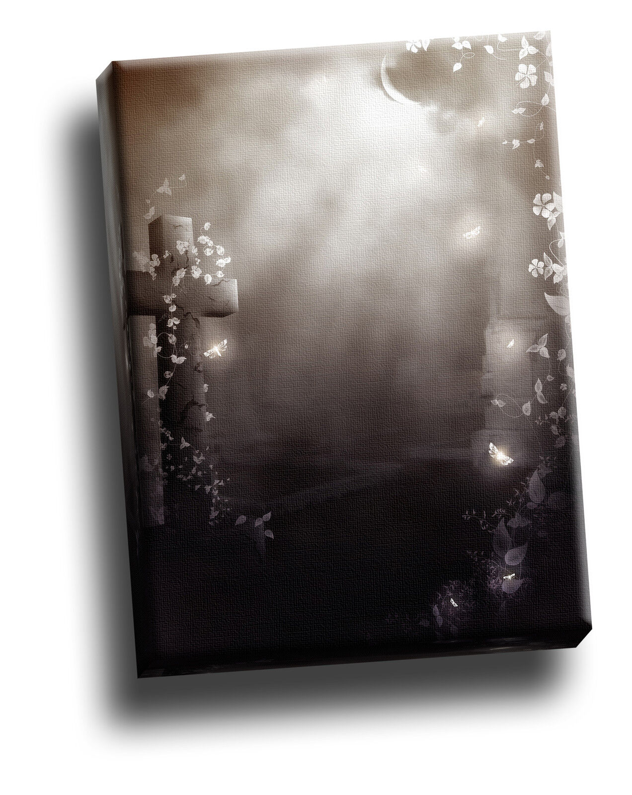 Beautiful Decay grau Gothic Giclee Canvas Picture Art Decoration