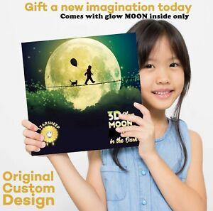 Glow-in-The-Dark-Wall-Ceiling-Moon-Sticker-Luminous-Sticker-Moon