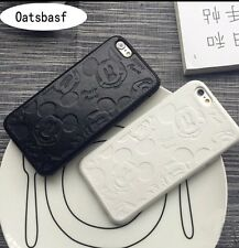 Disney Mickey Mouse White Silicone Gel iPhone 5 Or 5s Case Cover.