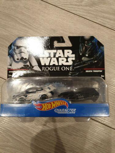 Hot Wheels Nuevo Star Wars-Stormtrooper /& muerte Trooper 2-Pack Carácter coches