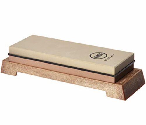 KING Japanese Whetstone combi 1000//6000 sharpening water stone KW65