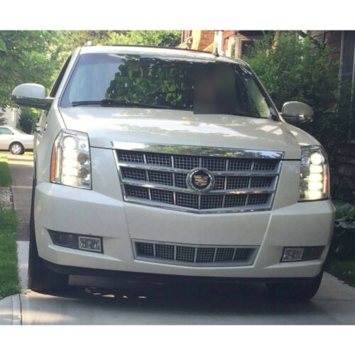 6 Pack White LED Fog Driving DRL Light Bulbs Combo For 2007-14 Cadillac Escalade