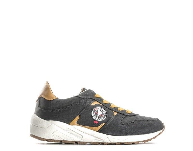 shoes CAPE HORN men Sneakers trendy  black PU,Tessuto CH620S7black