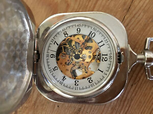 Reasonable Used Not Working Manual Winding Pocket Watch Watch Pocket 45 X 1 27/32in