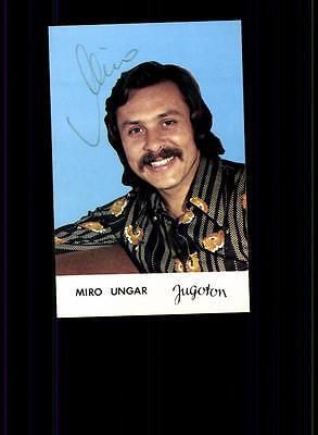 Original, Nicht Zertifiziert Miro Ungar Autogrammkarte Original Signiert ## Bc 78741 Duftendes Aroma