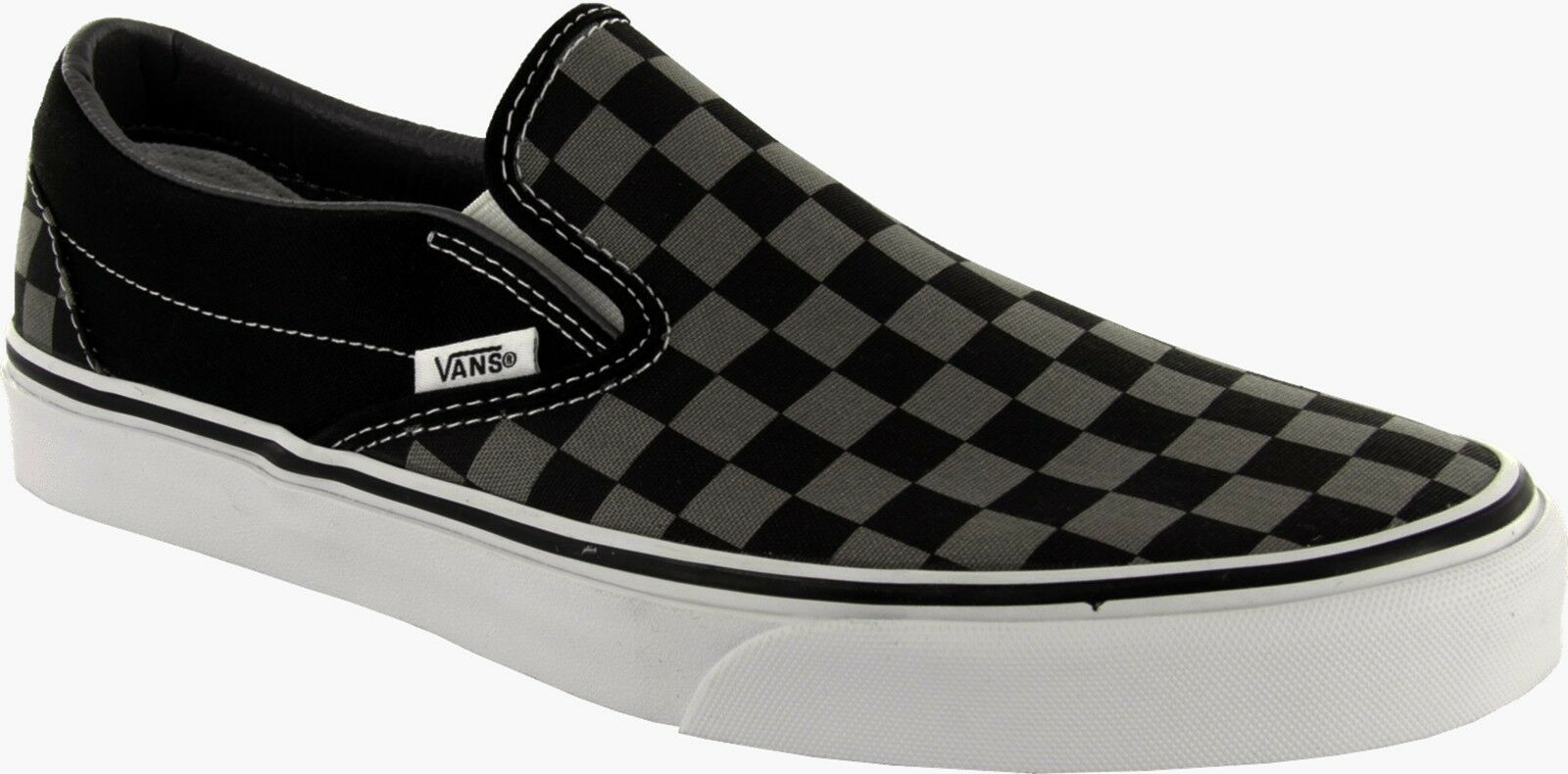 zapatos Negro Vans Classic Slip-on Checkerboard Negro zapatos N° 45.0 US hombre 11.5  cm 29.5 5643b5