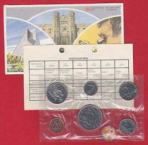 1981 - - Pl Set - - Canada RCM Proof Like Mint - With COA and Envelope