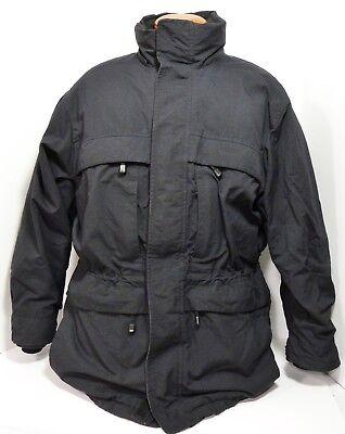 8c354b3ac53 Eddie Bauer WeatherEdge Black Goose Down Winter Jacket NO HOOD Men's Medium  VGC | eBay