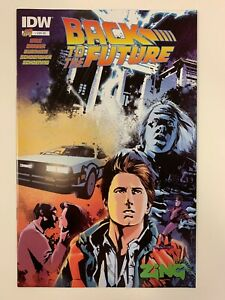 IDW BACK TO THE FUTURE #1 : EB GAMES AUSTRALIA EXCLUSIVE COVER : NM CONDITION