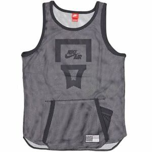 743266/black Or Red Sensible Men's Nike Air V3 Pivot Mesh Basketball Tank Top/jersey At All Costs