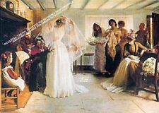 The Wedding Morning by John H. F. Bacon Artwork by Selby Prints