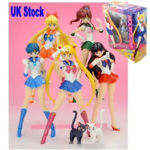 Image Is Loading S H Figuarts Sailor Moon Anime Action Figures Pretty