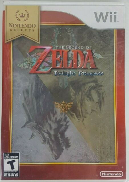 The Legend Of Zelda Twilight Princess Nintendo Selects Wii 2006 Made in USA