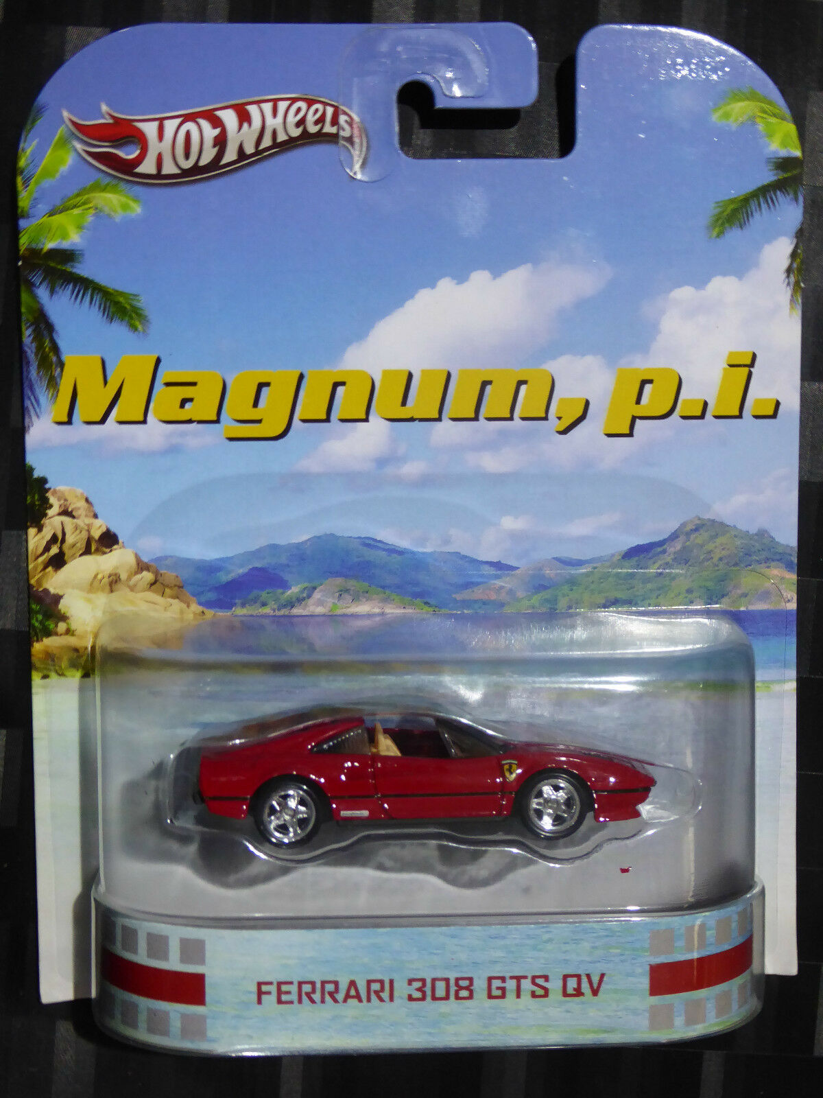 2013 HOTWHEELS - Retro entertainment D - MAGNUM PI - Ferrari 308 GTS QV