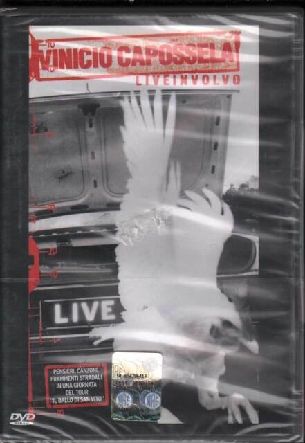 Vinicio Capossela DVD Liveinvolo Nuovo Sigillato