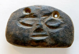 american antiquities -- Antique Price Guide |Olmec Head Necklace