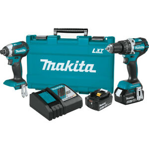 Makita-18V-4-0-Ah-LXT-Li-Ion-Brushless-2-Piece-Combo-Kit-XT269MR-Reconditioned
