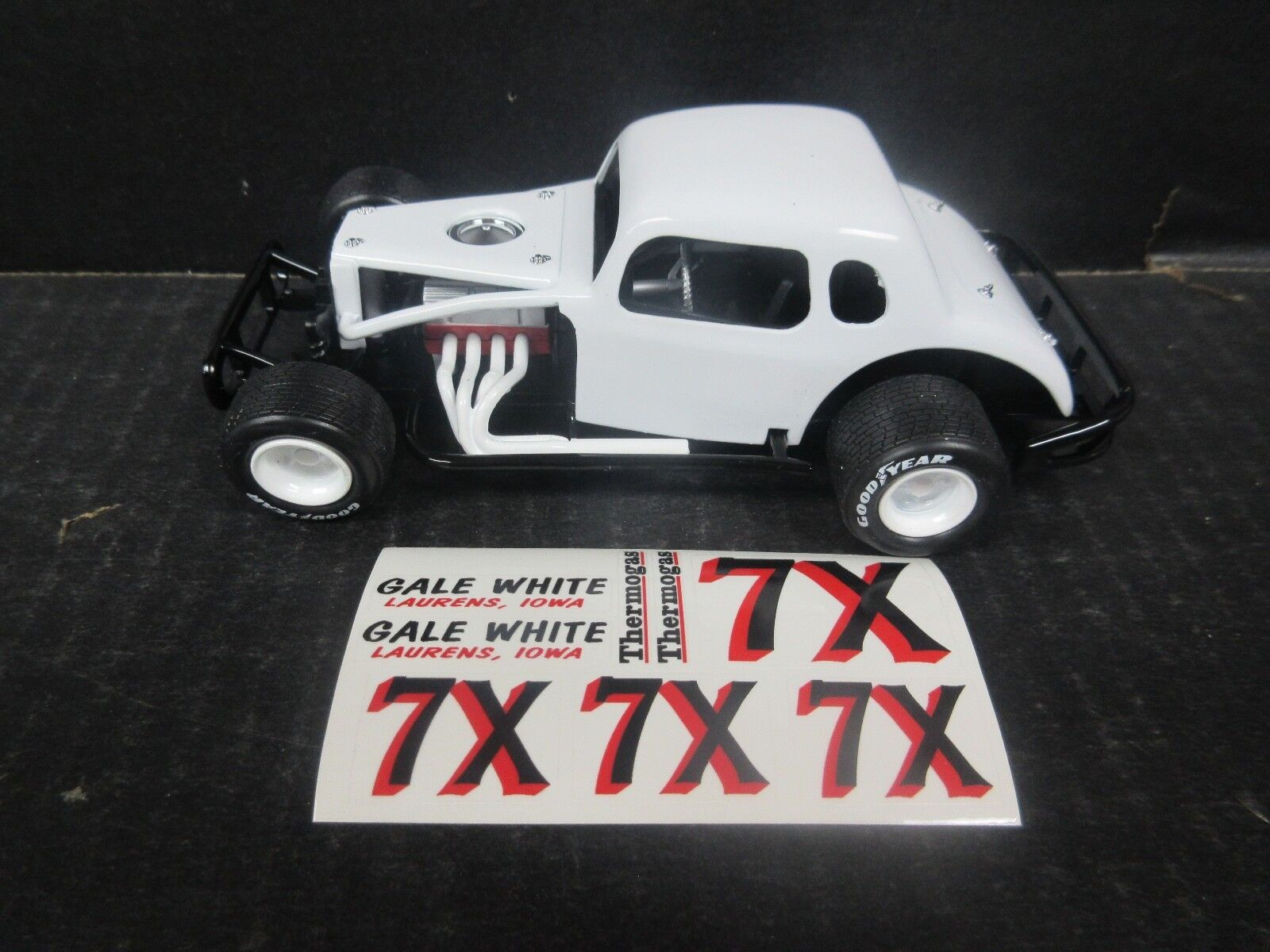 X Gale White Modified 1 25th 25th 25th scale Die-Cast donor kit 5e965e