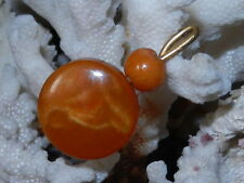 Genuine baltic natural amber  BUTTERSCOTCH EGG YOLK toffee Vtg