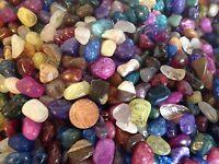 30 x Mixed tumble stones crystal chakra healing mixed gem treasure pack