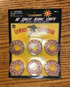 Cowboy-Collection-12-Shot-Ring-Caps-144-Single-Action-Cap-Gun-Refill-Shots-New