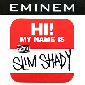 Eminem-CD-Single-My-Name-Is-Europe-EX-EX