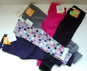 Gymboree-Girls-Fleece-Lined-Cozy-Leggings-Choose-2T-3T-4T-5T-Black-Blue-Fuschia