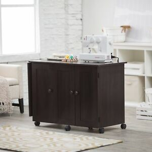 Sauder Easy Rolling Sewing And Craft Table