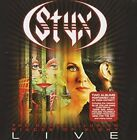The Grand Illusion/Pieces of Eight Live by Styx (CD, Feb-2012, Eagle)