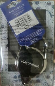 New Classic PlayStation Retractable Lanyard ID Badge Holder BioWorld Keychain