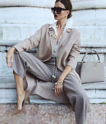 Uk 12 Manteau Bnwt Taille Main En Grand Beige Zara Basic Camel La L Laine qnBP77Ew