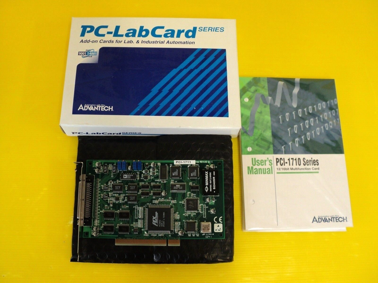 Advantech PCI-1711 REV A2 01-1 PCI1711