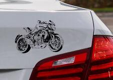 "Brutalo 800, Auto-Motorrad-Aufkleber für den ""MVA-Fahrer"""