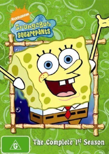 Spongebob Squarepants : Season 1 (DVD, 2006, 3-Disc Set)