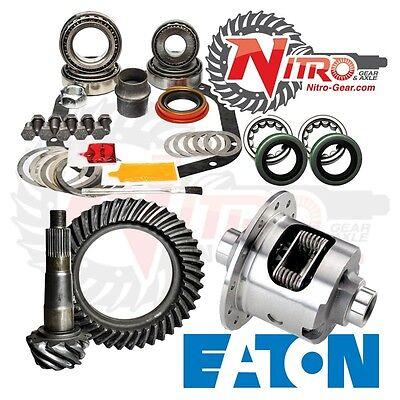 GM 12 Bolt Truck 3.73 Nitro Gear Ring Pinion Master Install Eaton Posi Package