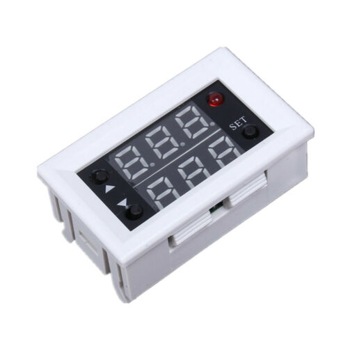 Mini 12V 20A Digital LED Dual Display Timer Relay Module Timing Delay Cycle