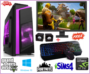 Fast-Gaming-PC-Intel-Core-i7-16-Go-RAM-2TB-240GB-SSD-Win-10-4-Go-GTX-1050Ti