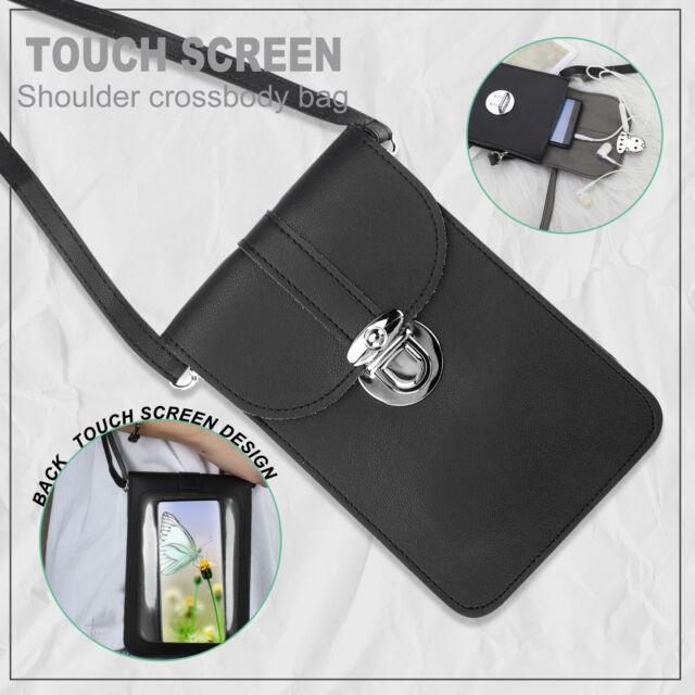 Touch Screen Phone Purse Mini Wallet Crossbody Shoulder Bag Case Pouch Fashion