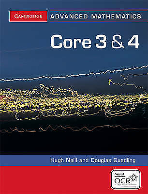 1 of 1 - Core 3 and 4 for OCR (Cambridge Advanced Level Mathematics), Acceptable, Douglas