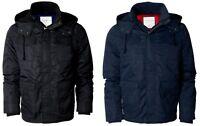 Aero Aeropostale Mens Solid Hooded All Weather Jacket Coat S,m,l,xl,2xl,3xl